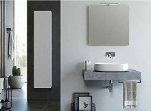 Ensemble meuble de salle de bain effet béton et