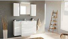 Ensemble meuble de SDB Emilia 800 avec armoire de