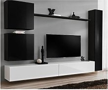 Ensemble meuble salon mural SWITCH VIII.Meuble TV