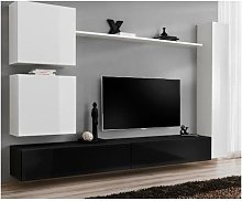-Ensemble meuble salon mural SWITCH VIII.Meuble TV