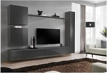 Ensemble meuble salon mural switch viii. Meuble tv