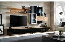 Ensemble meuble tv mural - abw manhattan - 300 x