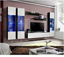 Ensemble meuble tv mural  - fly iii - 310 cm x 190