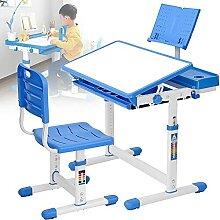 Ensemble Pupitre Enfant,Table Avec Chaise Enfant