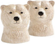 Ensemble salière et poivrière Polar bear /