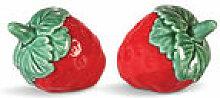 Ensemble salière et poivrière Strawberry /