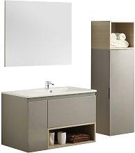 Ensemble salle de bain KLADE - meuble sous vasque