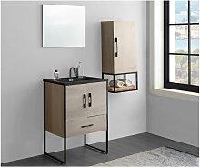 Ensemble salle de bain PHENA - meuble sous vasque