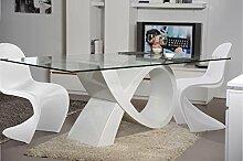 Ensemble Table Alpha ET 4 CHAISES Pop Art Blanc