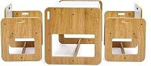 Ensemble Table et chaise Montessori en bois pour