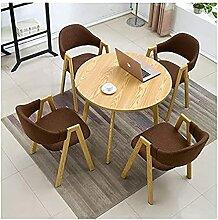 Ensemble table et chaises de restaurant, café,