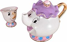 Ensemble théière et tasse à thé « La Belle et
