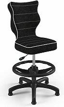 Entelo Chaise de bureau ergonomique pour enfants