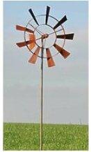 Eolienne moulin à vent mobile décoration de