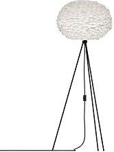 EOS MEDIUM-Lampadaire Plume Trépied Noir H139cm