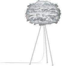 EOS MINI-Lampe à poser Plume Trépied Blanc