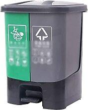 Épaissir les bacs de recyclage, type de pédale