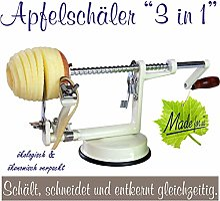 Épluche-pommes 3-en-1 NOUVEAU DESIGN facilitant