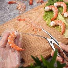 Éplucheur de crevettes, appareils de cuisine