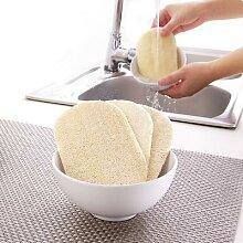 Éponge à nettoyer Loofah, naturelle, tampon à