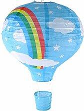 EPRHY Plafonnier montgolfière arc-en-ciel