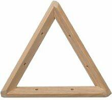 Equerre triangle en pin brut 20 cm