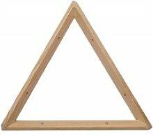 Equerre triangle en pin brut 30 cm