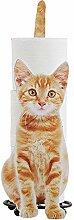 ERHETUS Porte-papier toilette en forme de chat