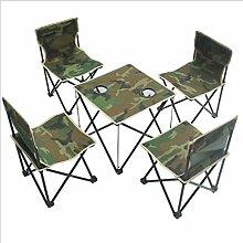ERSD Ensemble de chaises pliantes portatives de