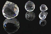 ERTERT Crystals Transparents Boule de Verre pour