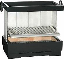 ESCALOR Barbecue inox ES VERBENA charbon de bois