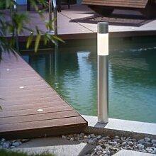 Esotec Borne solaire élégante Pole Light bi