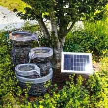 Esotec - Fontaine de jardin solaire fontaine de