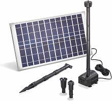 Esotec - Pompe solaire pour bassin 25W 1250 l/h