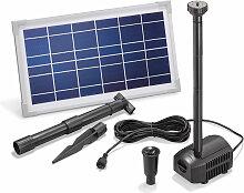 Esotec - Pompe solaire pour bassin 8W 380 l/h