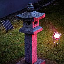 Esotec - Projecteur solaire RGB projecteur coloré