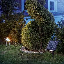 Esotec - Spot solaire projecteur blanc chaud