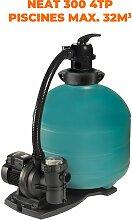 Espa équipement de filtration NEAT 300 4TP 0,2CV