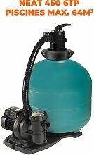 Espa équipement de filtration NEAT 450 6TP 0,33CV