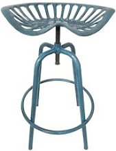 Esschert design chaise tracteur bleu ih034 de