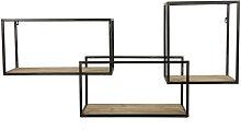 Essential - Étagère murale 3 niches
