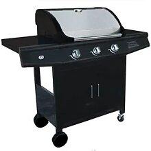 Essentielb 8008894 - Barbecue gaz