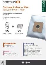 Essentielb 8008992 - Sac aspirateur