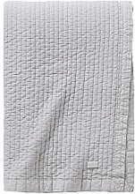 Essix - Couvre-Lit Russia Coton Gris Perle 240 x