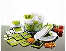 Essoreuse à salade 8 en 1 multifonctions 26 cm