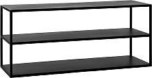 Eszential - Meuble à chaussures en métal 90x30cm