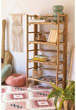 Etagère 4 étagères en bambou Iciar Bambou Sklum