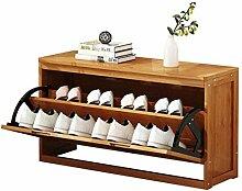 Étagère à chaussures 2-Tier Chaussure Cabinet