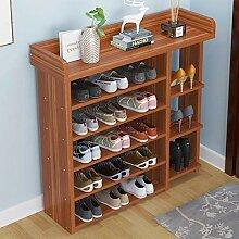 Étagère à chaussures 6-Tier Shoe rack en bois