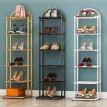 Étagère À Chaussures Grand Métal Tall Etroite